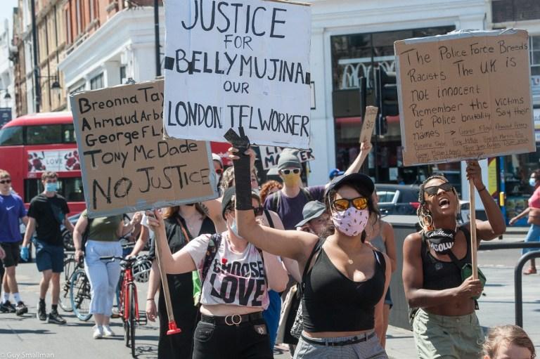 London Black Lives Matter demo