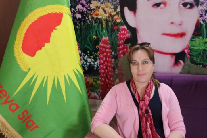 the chairwoman of Kongra Star women's movement