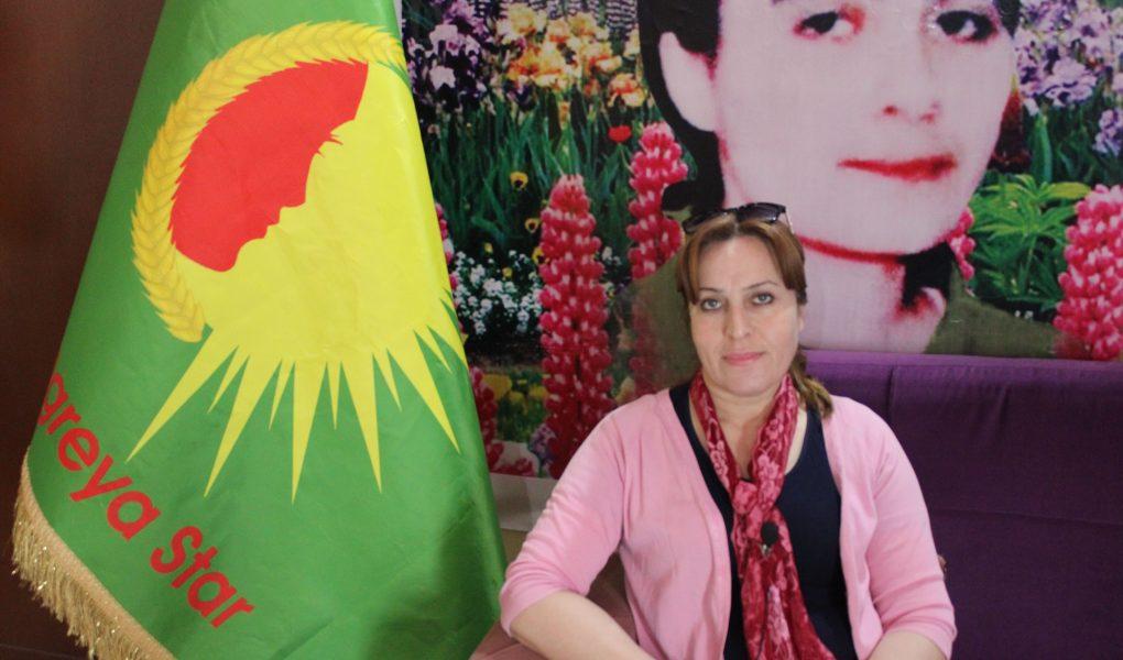 the chairwoman of Kongra Star women's movement