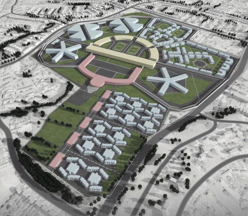 Image of a prison complex