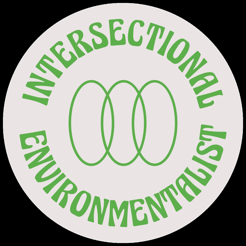 Intersectional environmentalist logo