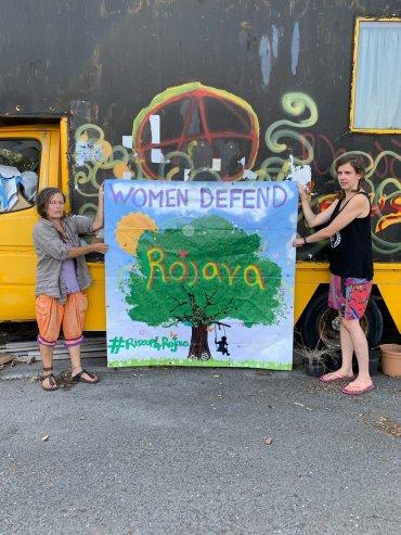 Women Defend Rojava Cymru