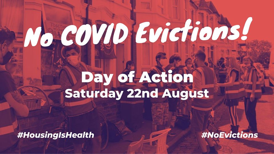 Covid Evictions Day of Action