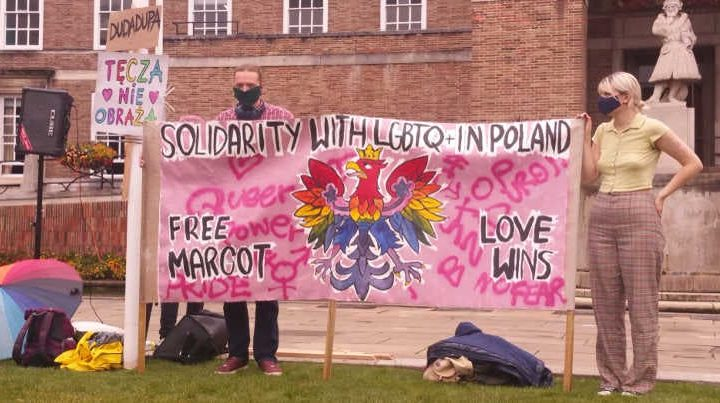 LGBTQI protest in Bristol