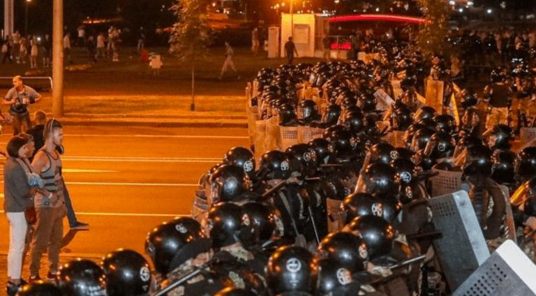 Uprising in Belarus