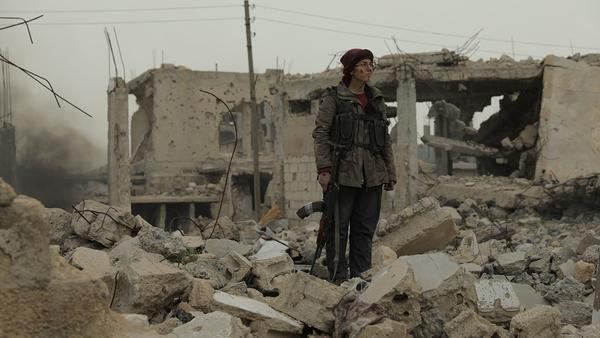 "mage from ""The End Will Be Spectacular"", which tells the story of 100 days of resistance that took place in the Kurdish city of Sur (Republic of Turkey)."