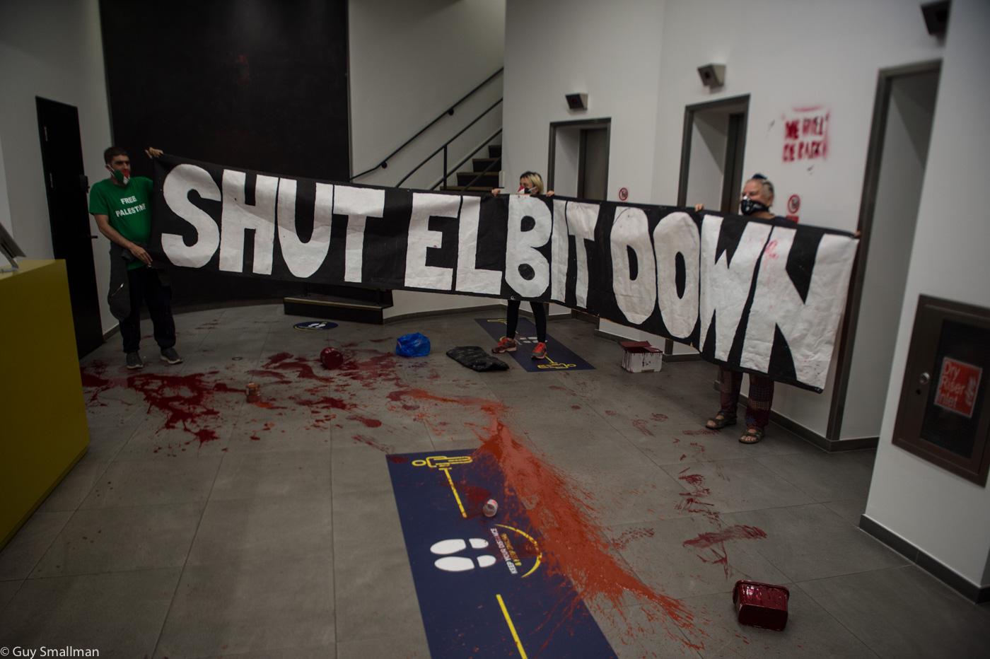 Shut Elbit Down