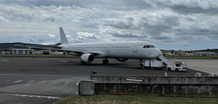 Deportation flight