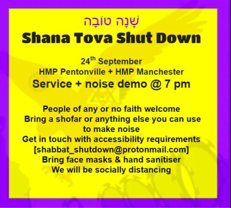 Shana Tova Shut Down