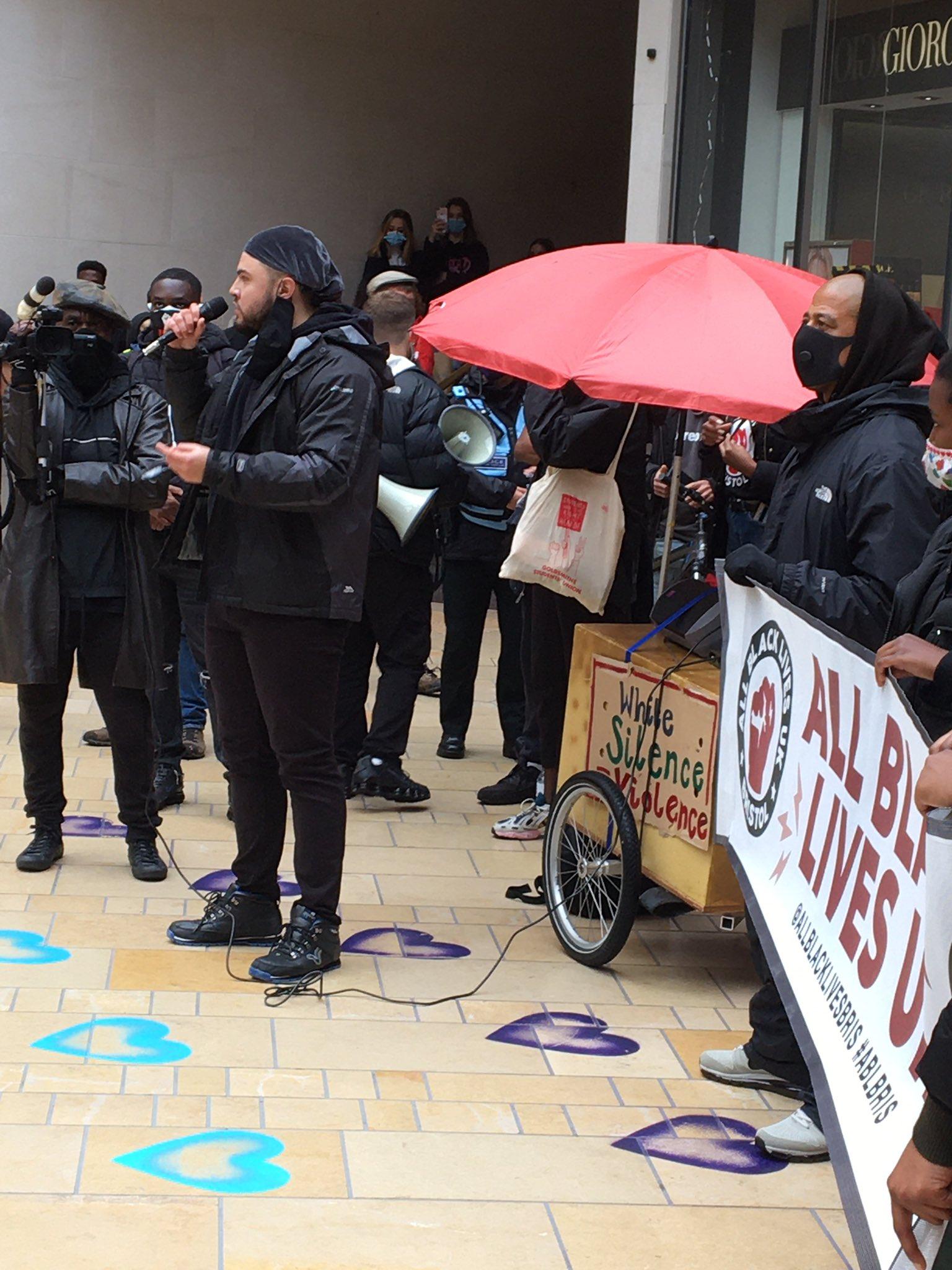 All Black Lives Matter protest in Bristol