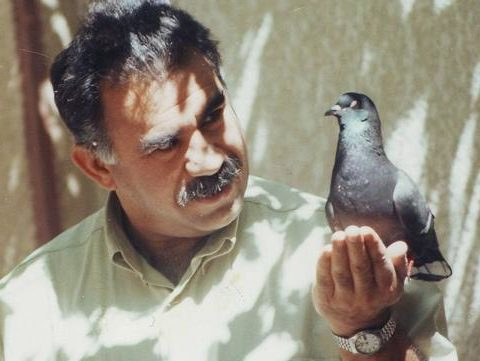 Abdullah Öcalan, leader of the Kurdistan revolutionary movement, currently imprisoned in isolation in the Turkish island prison of Imrali.