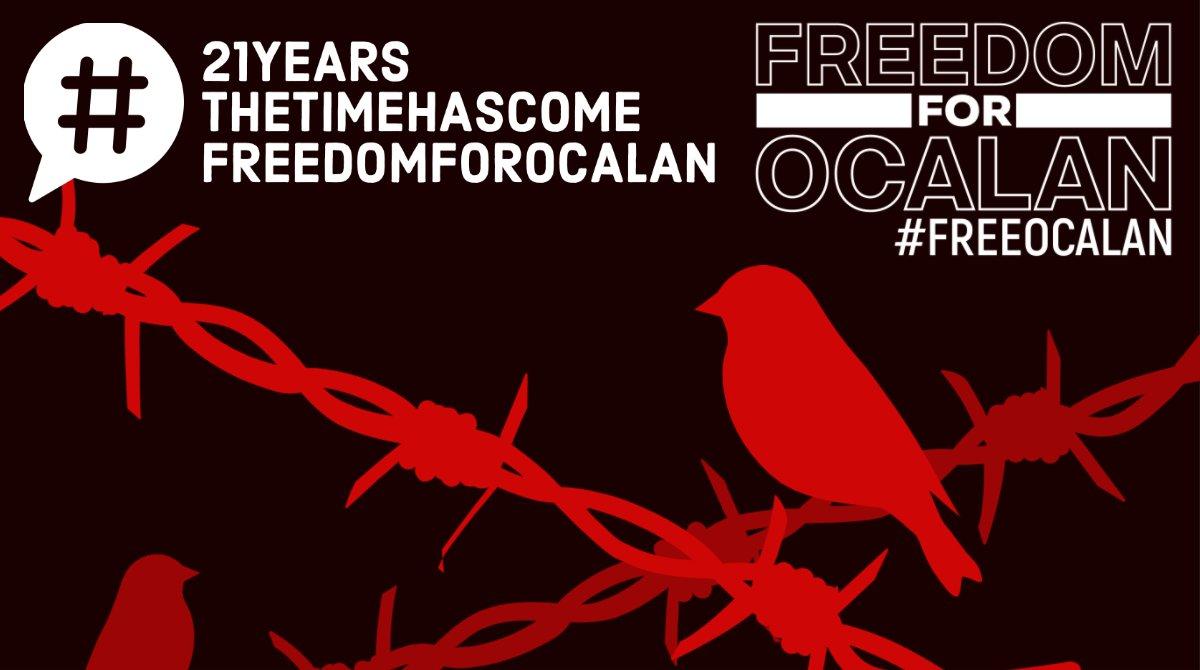 Freedom for ocalan
