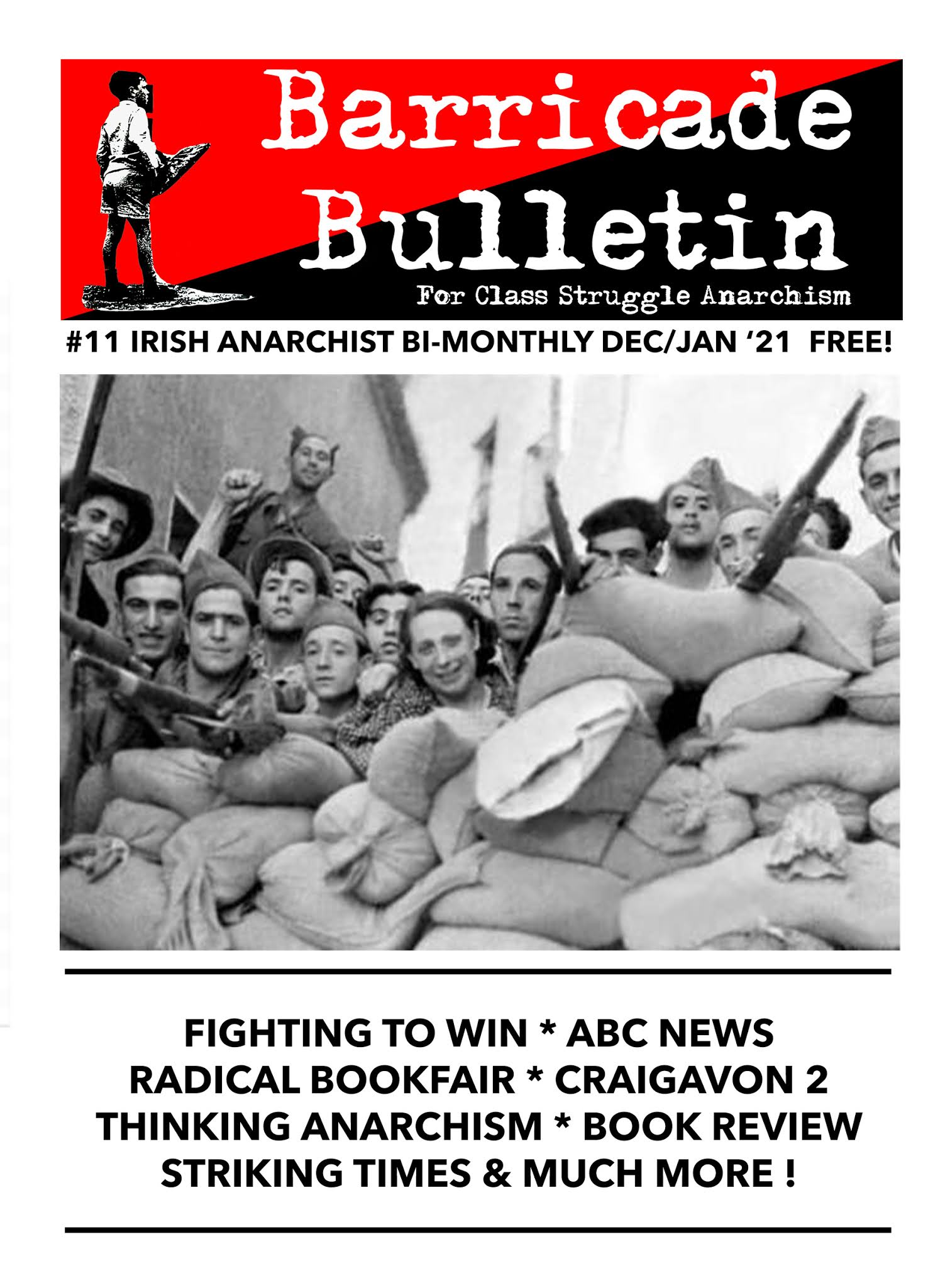 Barricade Bulletin No.11 – Out Now!
