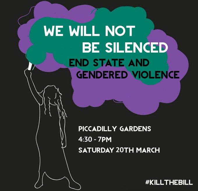Kill the Bill Manchester