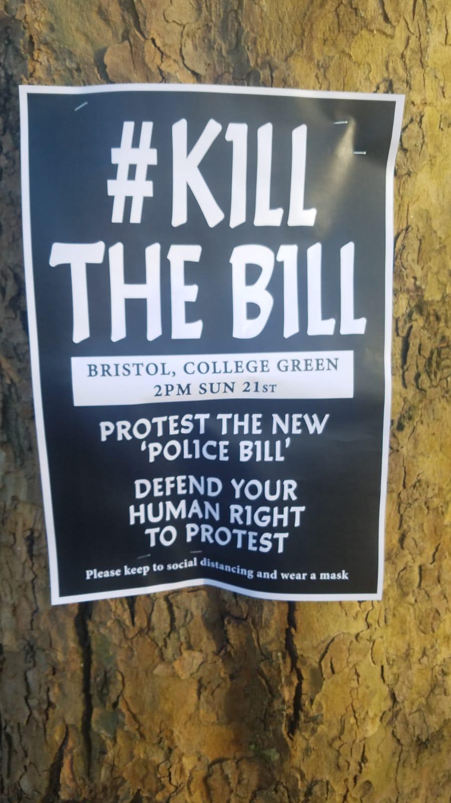 Kill the Bill Bristol