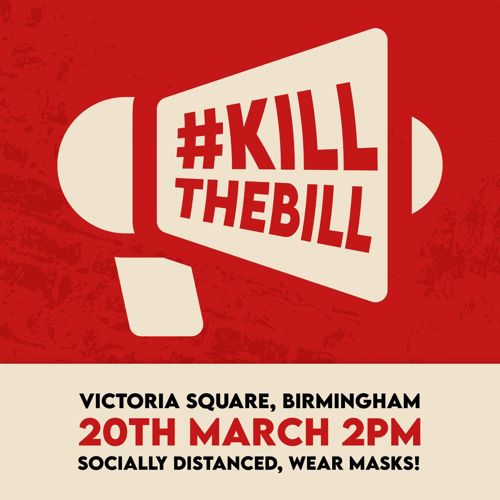 Kill the Bill Birmingham