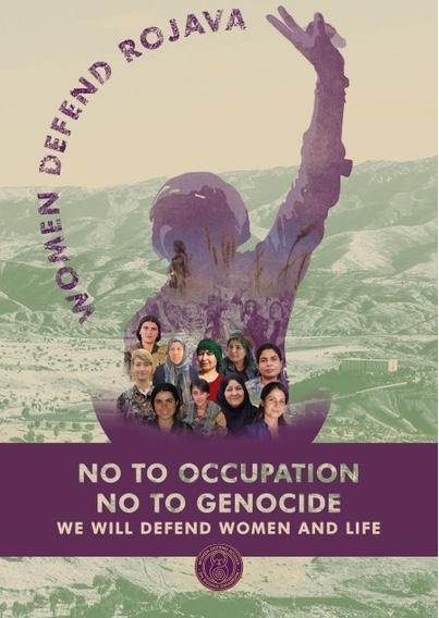 Women Defend Rojava poster