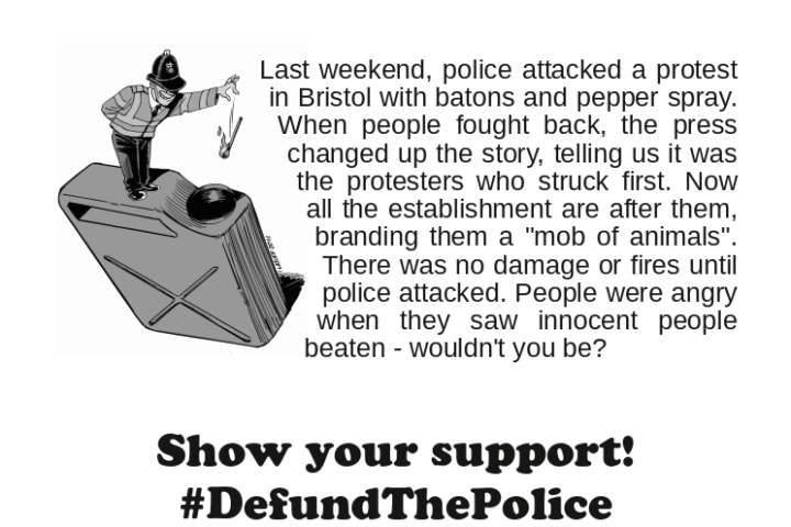 Solidarity with the Bristol rots
