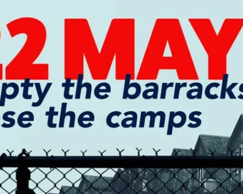 22 May Close the camps