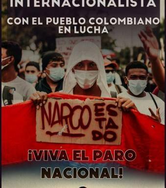 Solidarity w/ Colombian People