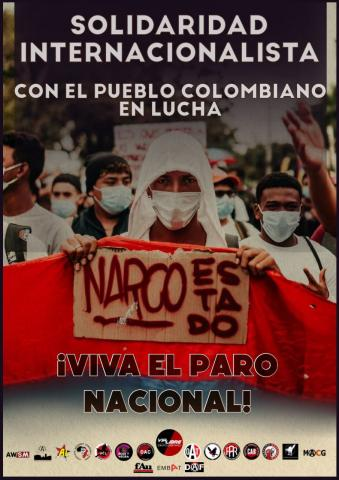 Solidarity w/ Colombian People