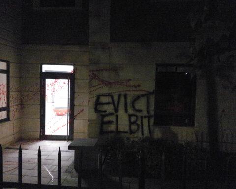 Evict Elbit action at JLL Bristol