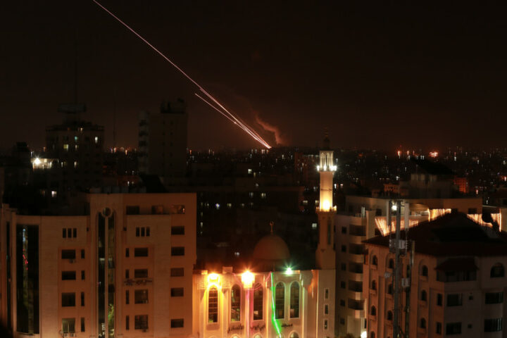 Resistance movements in Gaza are responding to a wave of popular anger over Israeli provocations in Jerusalem and at al-Aqsa. Bashar Taleb APA images