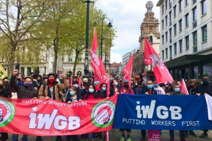 IWGB demo